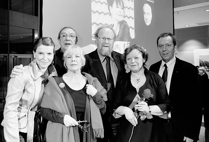 Willy-Brandt-Haus, Berlin, (v.l.n.r.) Bergemann, Bürger, Schwarz, Thierse, Werner, Morsbach, 2009
