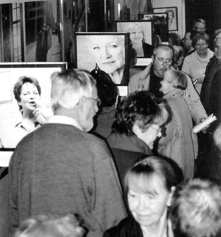 DEFA-Filmtage, Merseburg, Ausstellungseröffnung mit Stargast Jutta Hoffmann, 2010