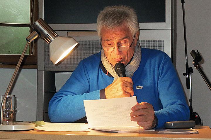 Lesung mit Gojko Mitic im Heinrich-Schliemann-Museum, 26.11.2016