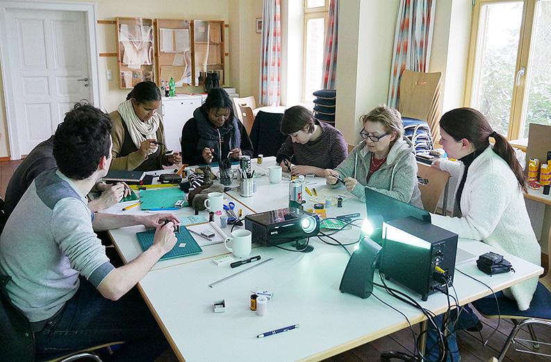 Englischsprachiger Workshop für den Volksbund Deutsche Kriegsgräberfürsorge