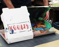 Street-Art-Workshop mit Kollege Julian van Grey
